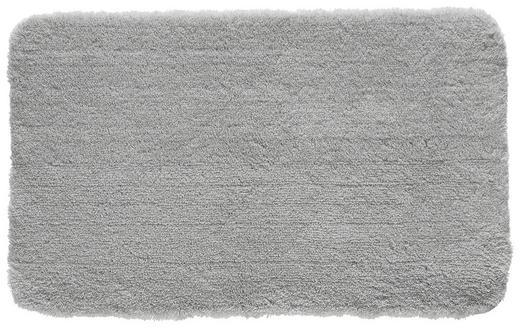 BADTEPPICH  Grau  60/100 cm - Grau, Basics, Kunststoff/Textil (60/100cm) - KLEINE WOLKE