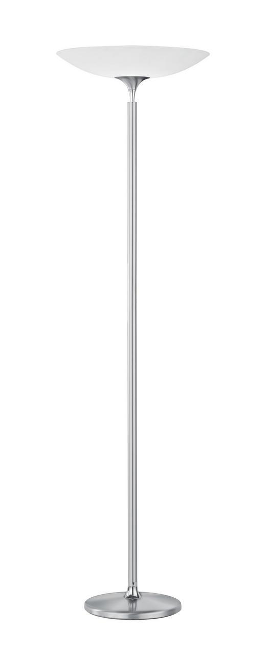 LED-STEHLEUCHTE - Nickelfarben, Design, Metall (47/180cm) - BANKAMP