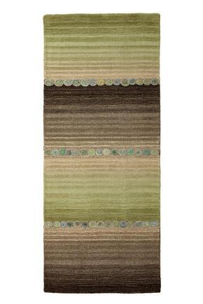 ORIENTALISK MATTA - grön/grå, Klassisk, ytterligare naturmaterial (80/200cm) - Esposa