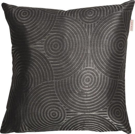KISSENHÜLLE Anthrazit, Grau 38/38 cm - Anthrazit/Grau, Textil (38/38cm) - Esprit