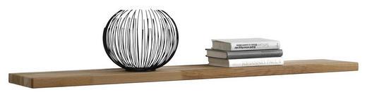 WANDBOARD Kernbuche massiv Buchefarben - Buchefarben, LIFESTYLE, Holz (120/3/20cm) - Carryhome