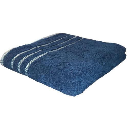 RUČNIK ZA TUŠIRANJE 70/130 cm plava   - plava, Basics, tekstil (70/130cm) - Esposa