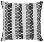 Zierkissen Flavia - Schwarz, ROMANTIK / LANDHAUS, Textil (40/40cm) - James Wood