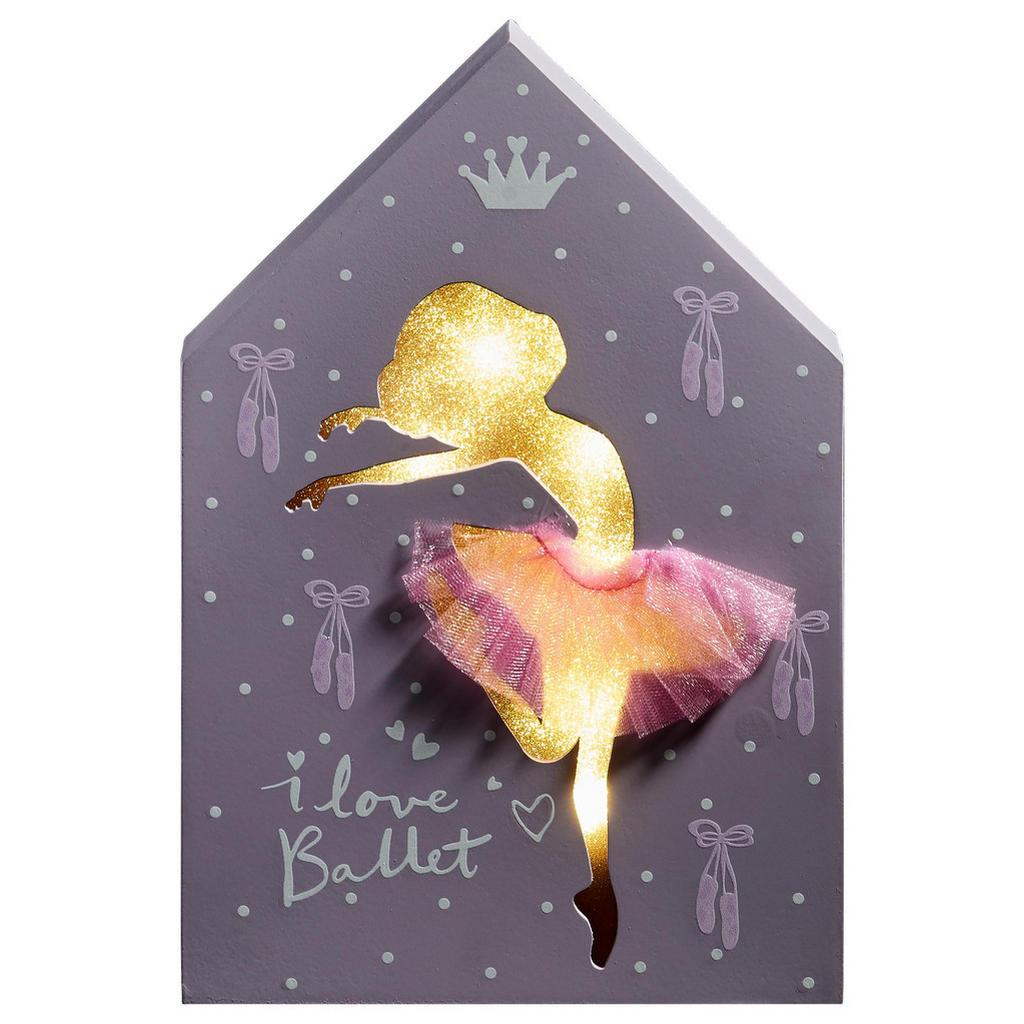 Monee LEUCHTBILD Rosa   Dekoration > Bilder und Rahmen > Rahmen   Rosa   Textil   Monee