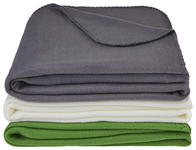 KUSCHELDECKE 125/150 cm Grau  - Grau, Basics, Textil (125/150cm) - Boxxx