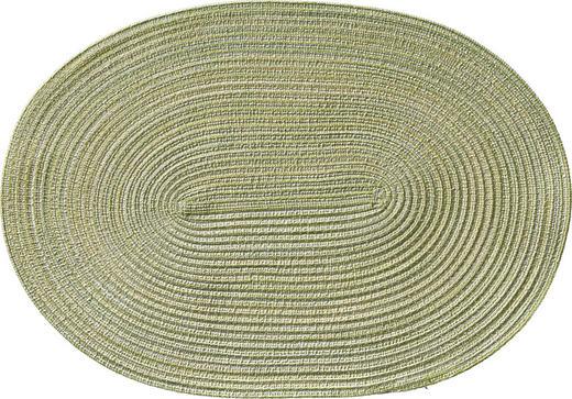TISCHSET - Hellgrün, Basics, Textil (48/33cm)