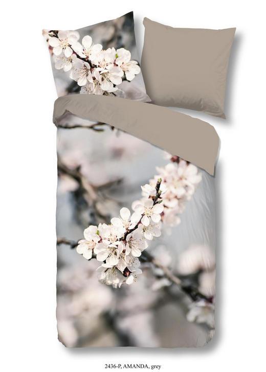 BETTWÄSCHE Renforcé Grau 200/200 cm - Grau, Trend, Textil (200/200cm)