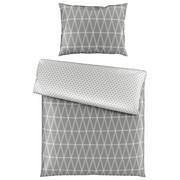BETTWÄSCHE 140/200 cm - Silberfarben, Design, Textil (140/200cm) - Novel