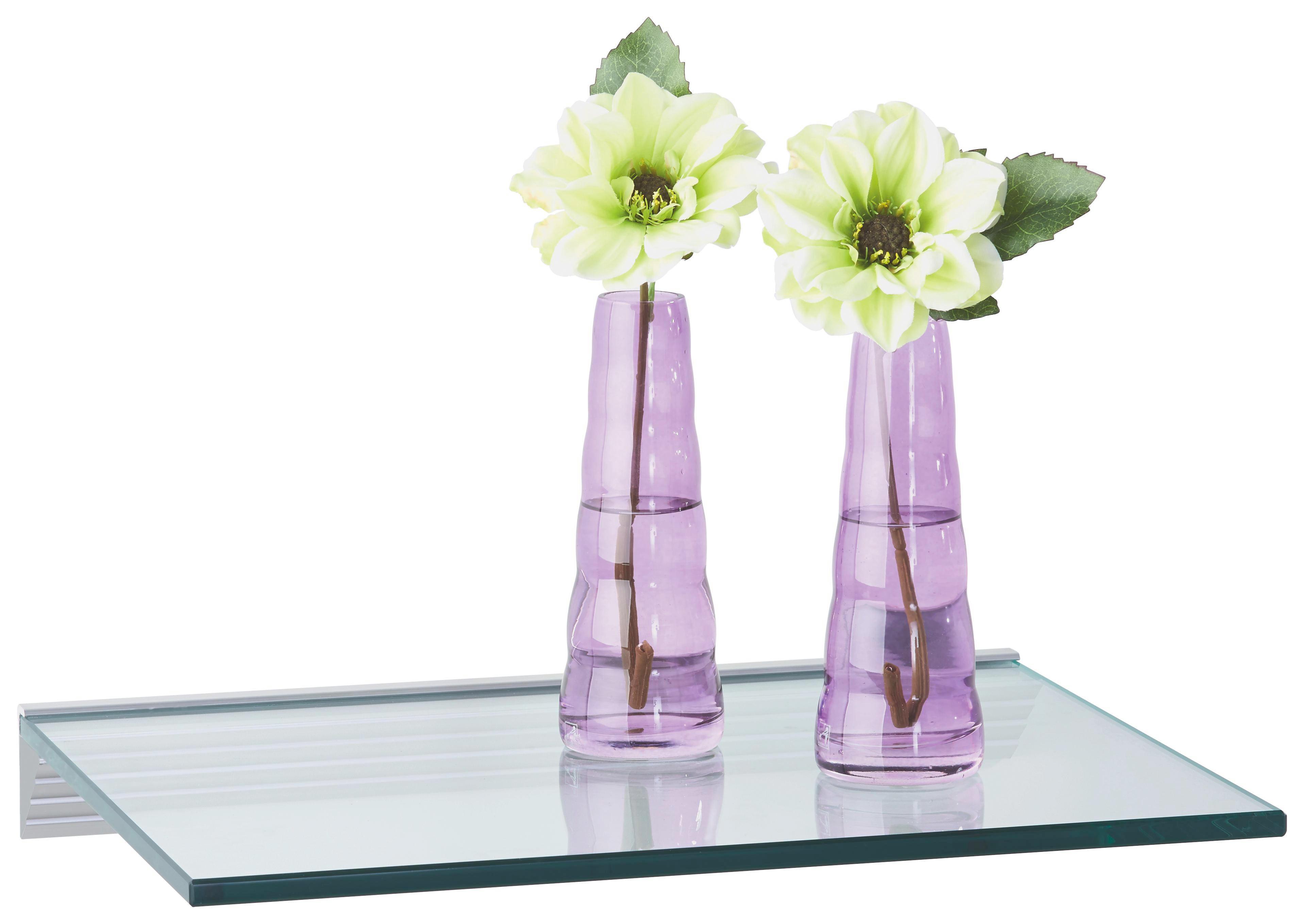 WANDBOARD in Transparent - Transparent, Glas (40/30cm)