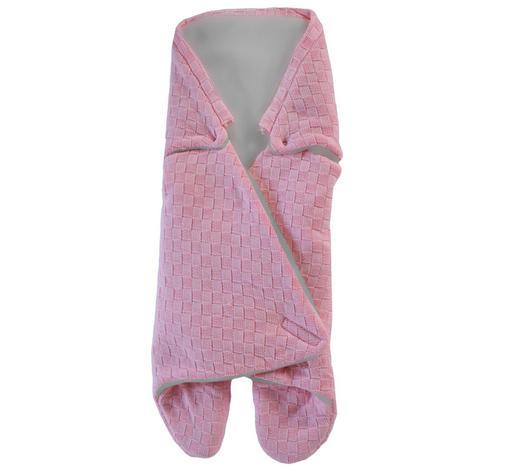 BABYSCHALEN-FUßSACK - Rosa, Basics, Textil (85/104cm) - My Baby Lou