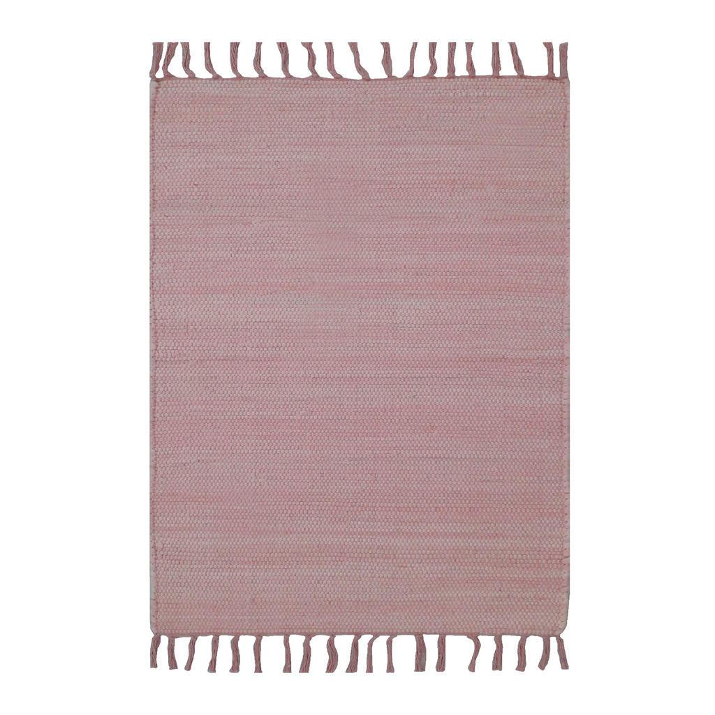 Hadrový Koberec 80/150 Cm Růžová Boxxx - růžová
