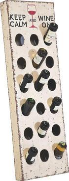 WEINREGAL - Multicolor, Design, Holzwerkstoff (45/140/10cm)