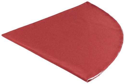 TISCHDECKE Textil Leinwand, Struktur Rot 160 cm - Rot, Textil (160cm) - NOVEL