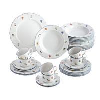 Porzellan  KOMBISERVICE 30-teilig - Weiß, Basics, Keramik (36.3/29.8/28.5cm) - Seltmann Weiden