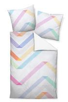 BETTWÄSCHE Makosatin Multicolor 135/200 cm - Multicolor, Textil (135/200cm)