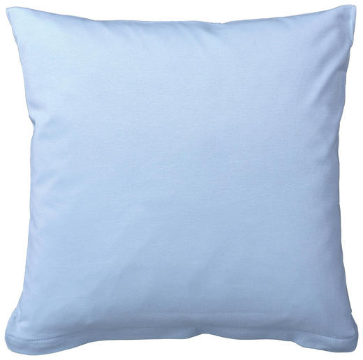 KISSENHÜLLE Hellblau 40/40 cm - Hellblau, Basics, Textil (40/40cm) - Schlafgut