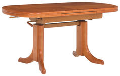 COUCHTISCH in Holz, Holzwerkstoff 125-165/71/61-80 cm   - Kirschbaumfarben, LIFESTYLE, Holz/Holzwerkstoff (125-165/71/61-80cm) - Venda