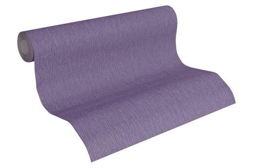 VLIESTAPETE 10,05 m - Violett, Design, Textil (53/1005cm)