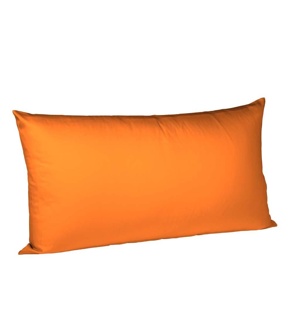 KISSENHÜLLE Orange 40/80 cm - Orange, Basics, Textil (40/80cm) - FLEURESSE