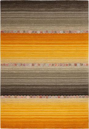 ORIENTALISK MATTA - orange/grå, Klassisk, ytterligare naturmaterial (80/200cm) - Esposa