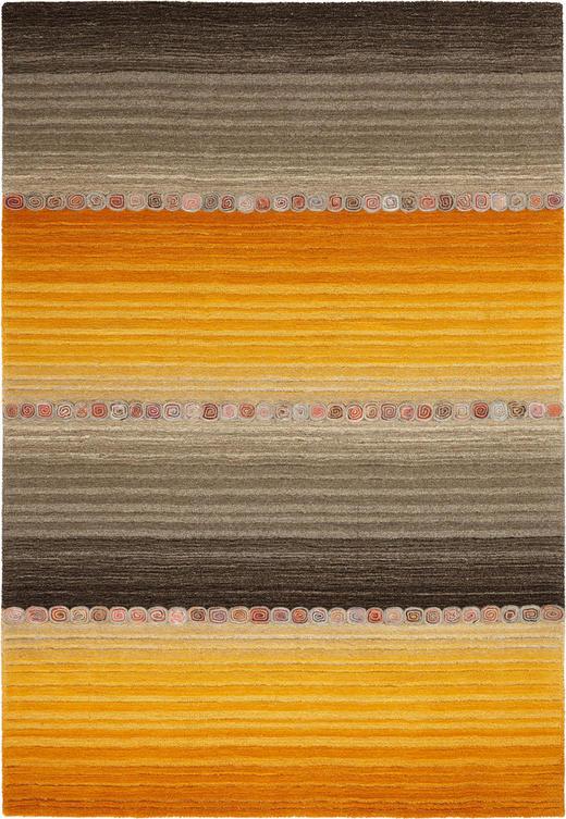 ORIENTTEPPICH - Orange/Grau, KONVENTIONELL, Weitere Naturmaterialien (80/200cm) - Esposa