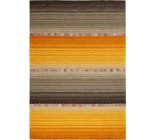 ORIENTTEPPICH 70/140 cm - Orange/Grau, KONVENTIONELL, Weitere Naturmaterialien (70/140cm) - Esposa