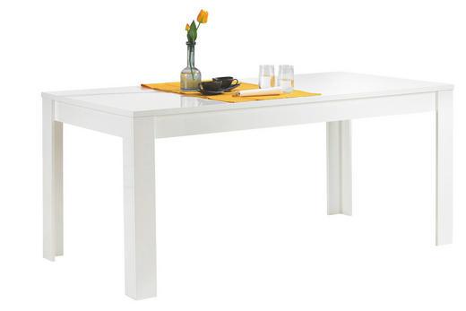 ESSTISCH rechteckig Weiß - Weiß, Design, Holzwerkstoff (180/90/79cm) - CARRYHOME