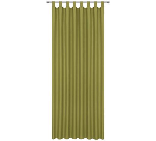 FERTIGVORHANG blickdicht - Grün, Basics, Textil (140/245cm) - Esposa