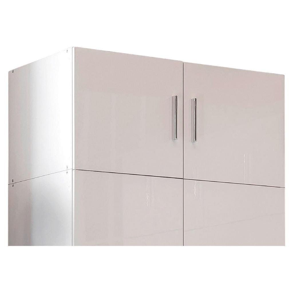Xora Aufsatzschrank , Weiß , Kunststoff , 80x40x54 cm , BQ - Bündnis für Qualität, Made in Germany , Schlafzimmer, Kleiderschränke, Mehrzweckschränke