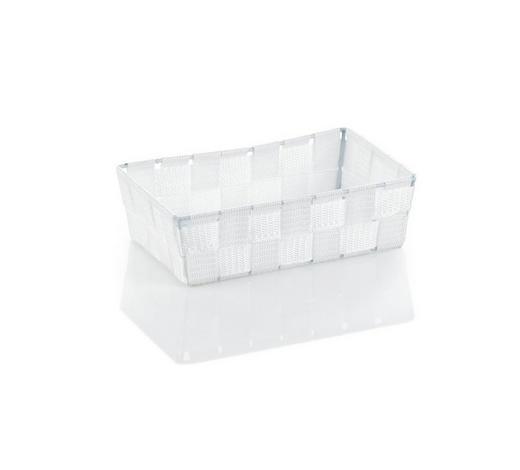 KORB  - Weiß, Basics, Textil (23/15/6cm) - Kela