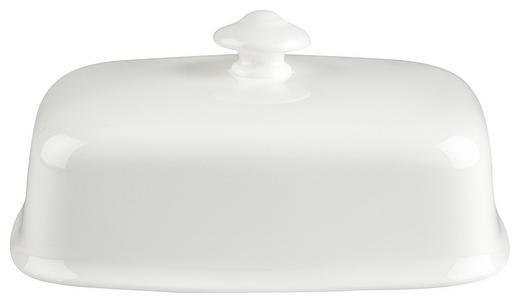 BUTTERDOSE Keramik Bone China - Weiß, Basics, Keramik (0,248kg) - Villeroy & Boch