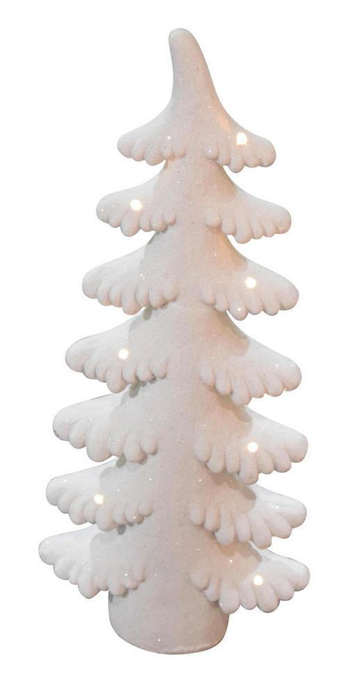 DEKOBAUM  Weiß - Weiß, Stein (83cm)