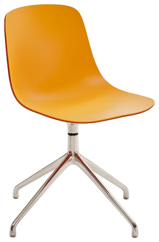 STUHL Alufarben, Orange - Alufarben/Orange, Design, Kunststoff/Metall (67/81/67cm)
