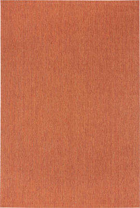 FLATVÄVD MATTA - terrakotta, Klassisk, textil (60/110cm) - Boxxx