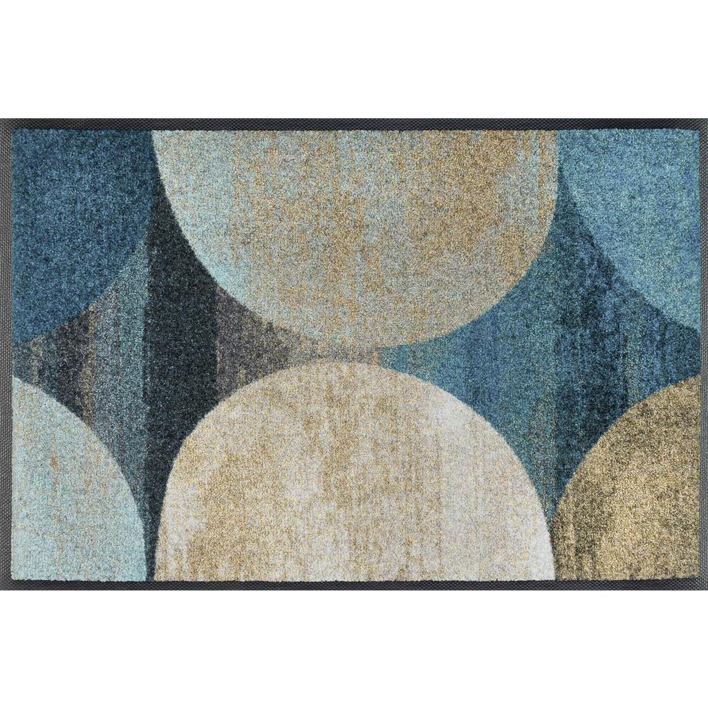 Esposa Fußmatte 40/60 cm graphik blau