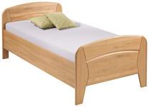 BETT 100 cm   x 200 cm   in Holz, Holzwerkstoff Erlefarben - Erlefarben, KONVENTIONELL, Holz/Holzwerkstoff (100/200cm) - Venda