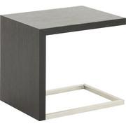 BEISTELLTISCH in Eichefarben, Schwarz - Eichefarben/Schwarz, Design, Holzwerkstoff/Metall (45/51/55cm) - Koinor