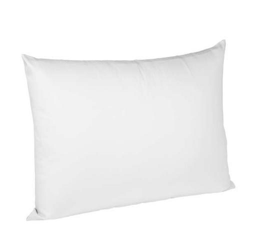 KISSENHÜLLE Weiß 40/60 cm - Weiß, Basics, Textil (40/60cm) - Fleuresse