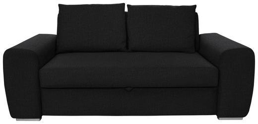SCHLAFSOFA in Textil Anthrazit - Chromfarben/Anthrazit, Design, Holz/Textil (199/92/97cm) - Hom`in