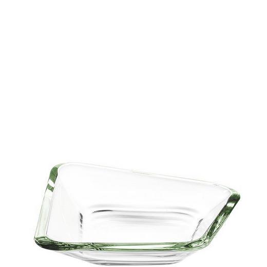 SCHALE - Grün, Basics, Glas (20,40/19/4,7cm) - LEONARDO