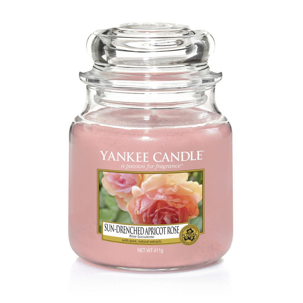 Yankee Candle Duftkerze yankee candle sun drenched apricot rose