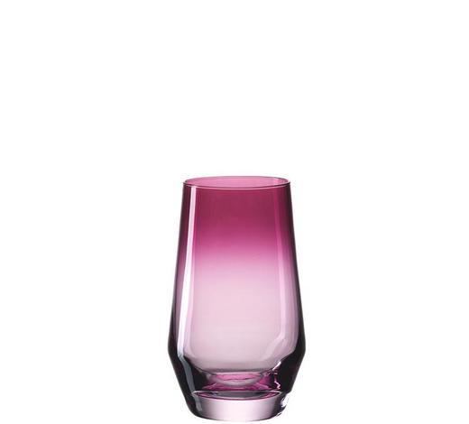 LONGDRINKGLAS 300 ml - Violett, Design, Glas (0,3l) - Leonardo