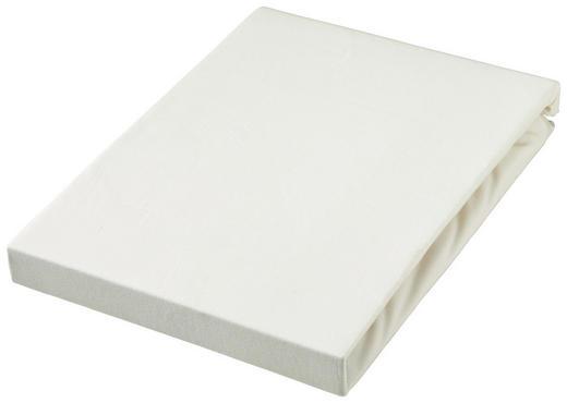 SPANNBETTTUCH Jersey Naturfarben bügelfrei, für Wasserbetten geeignet - Naturfarben, Basics, Textil (180/200cm) - BOXXX