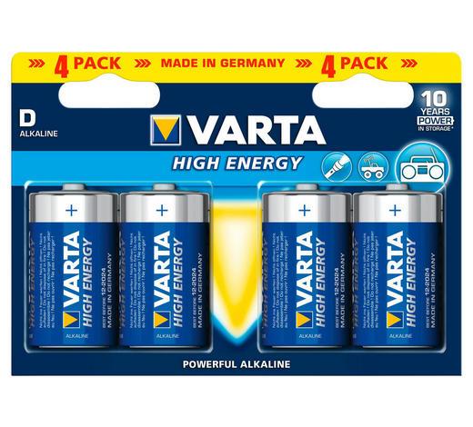 BATTERIE - Basics (15,3/17.5/19.1cm) - Varta