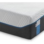 MATRATZE CLOUD ELITE 90/200 cm 25 cm - Weiß/Grau, Basics, Textil (90/200cm) - Tempur