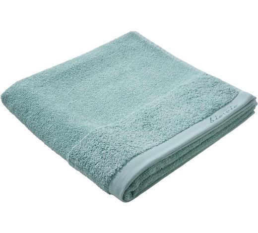 DUSCHTUCH 70/140 cm - Mintgrün, Natur, Textil (70/140cm) - Bio:Vio