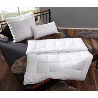 KOPFKISSEN  080/080 cm - Weiß, Basics, Textil (080/080cm) - Billerbeck