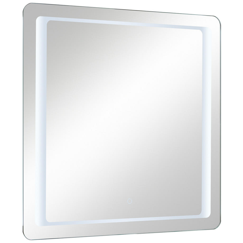 Image of Xora Badezimmerspiegel 70/70/3 cm , 980.837021 , Glas , 70x70x3 cm , feuchtraumgeeignet, In verschiedenen Grössen erhältlich, senkrecht montierbar , 001977022506