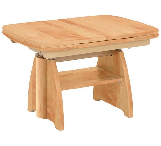 COUCHTISCH in Metall, Holzwerkstoff 90-131/65/56-75 cm - Birnbaumfarben, KONVENTIONELL, Holzwerkstoff/Metall (90-131/65/56-75cm) - Venda