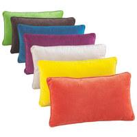 Zierkissen 30/50 cm  - Gelb, Basics, Textil (30/50cm) - Novel